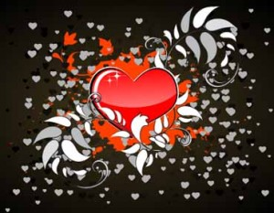 vector edisi valentine 17 300x233 Vector Heart #17