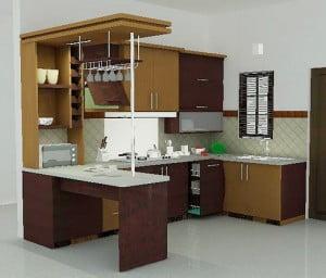 Dapur Dengan Desain Minimalis